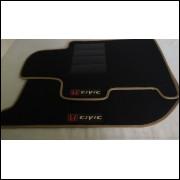 Tapetes automotivos Honda Civic carpete personalizado