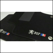 tapetes automotivos Peugeot 307 capete personalizado