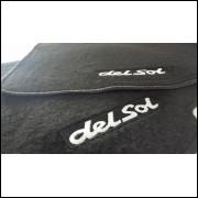 Tapetes automotivos Honda Civic Del Sol carpete personalizado