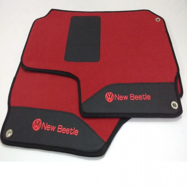 Tapetes automotivos New Beetle carpete personalizado