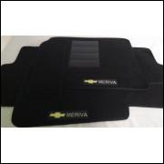 Tapetes automotivos Chevrolet Meriva carpete personalizado