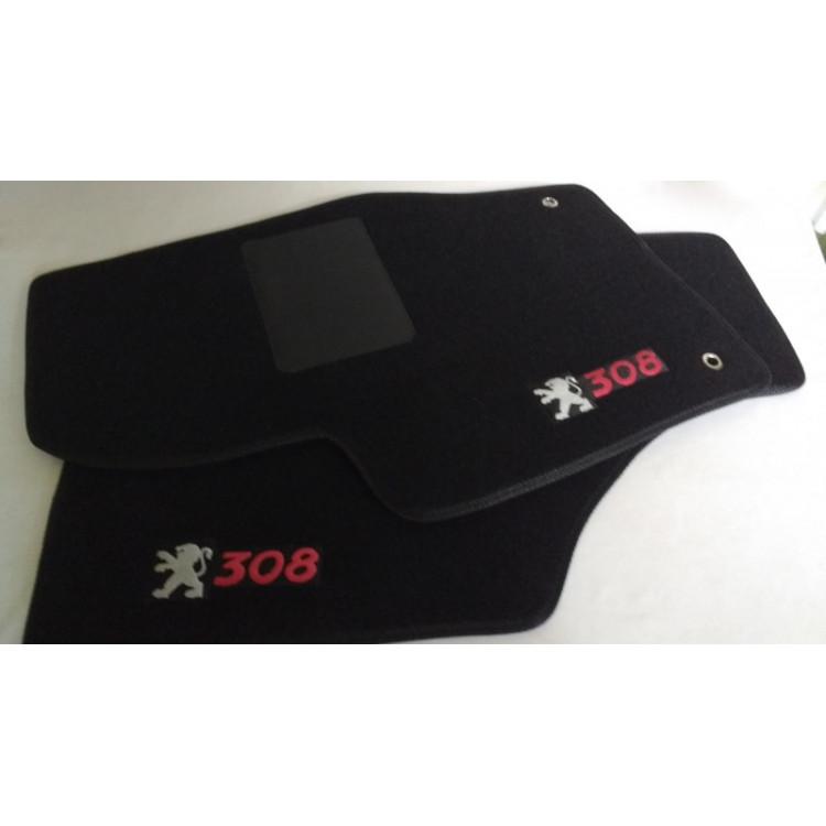 Tapetes automotivos Peugeot 308 carpete personalizado