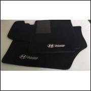 Tapetes automotivos Hyundai Veloster carpete personalizado
